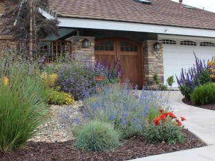 Impressive Front Yard Landscaping Garden Designs Ideas32