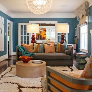 Inspiring Living Room Color Schemes Ideas Will Make Space Beautiful07