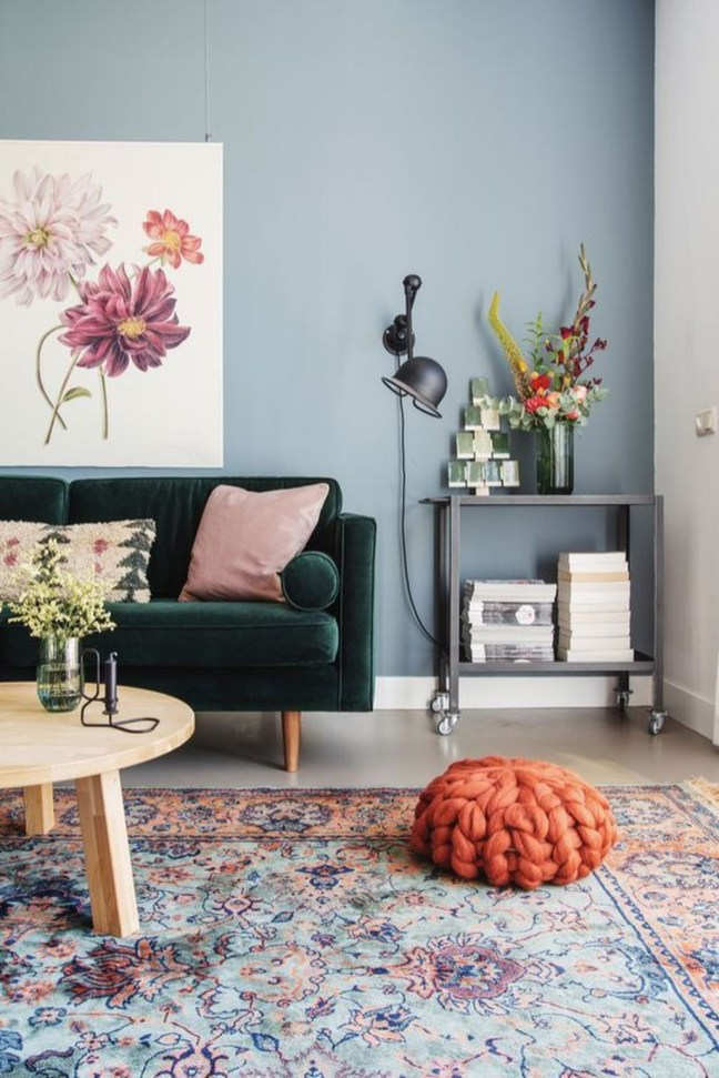 Inspiring Living Room Color Schemes Ideas Will Make Space Beautiful15