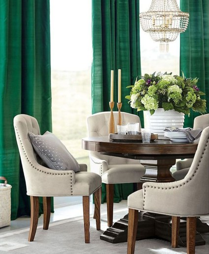 Lovely Fall Emerald Home Decoration Ideas04