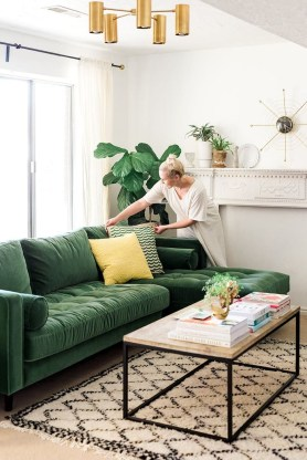 Lovely Fall Emerald Home Decoration Ideas12