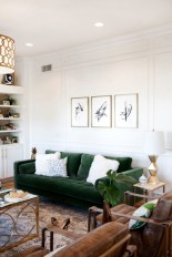 Lovely Fall Emerald Home Decoration Ideas27