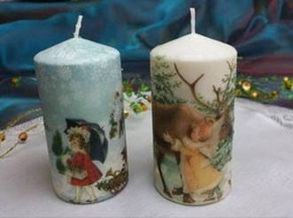 Magnificient Decorated Candle Ideas08