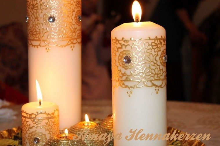 Magnificient Decorated Candle Ideas11