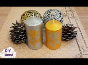 Magnificient Decorated Candle Ideas15