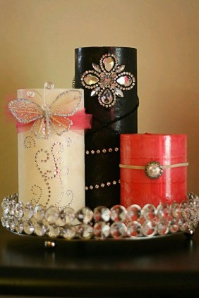 Magnificient Decorated Candle Ideas19