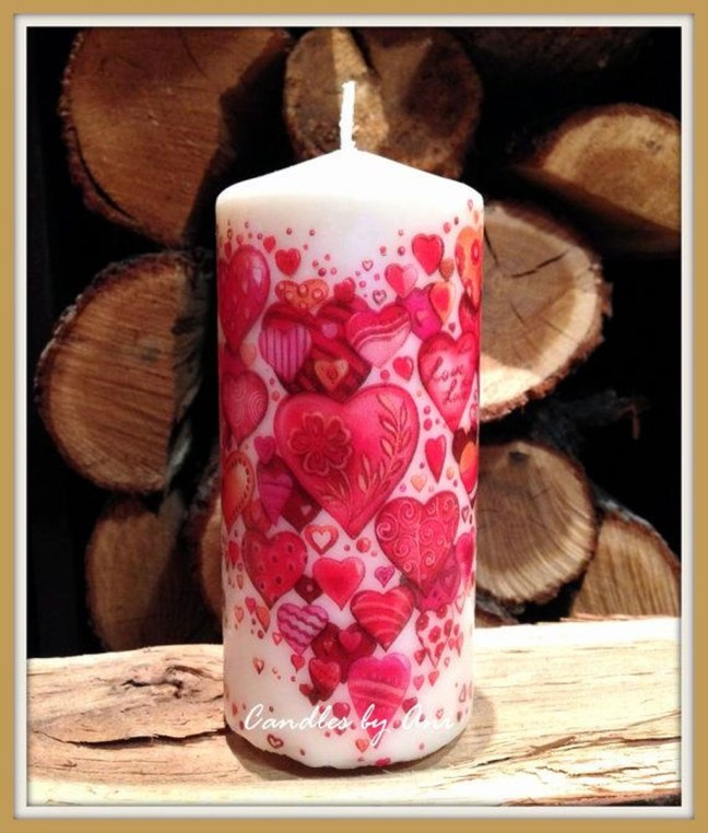 Magnificient Decorated Candle Ideas23