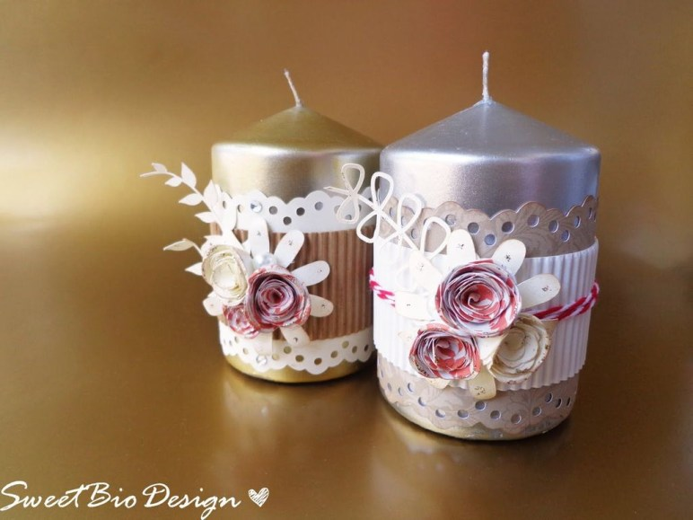 Magnificient Decorated Candle Ideas33