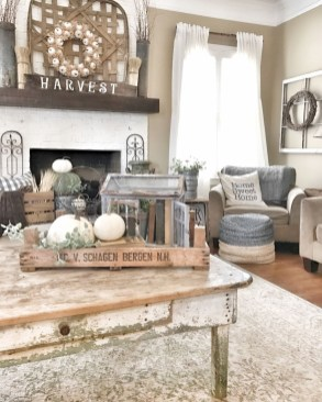 Modern Chic Farmhouse Living Room Design Decor Ideas Home22