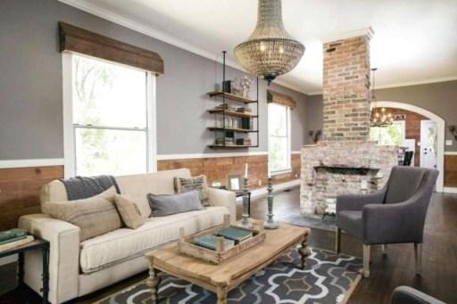 Modern Chic Farmhouse Living Room Design Decor Ideas Home23