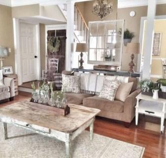 Modern Chic Farmhouse Living Room Design Decor Ideas Home31