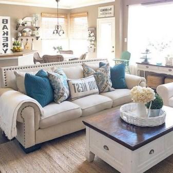 Modern Chic Farmhouse Living Room Design Decor Ideas Home33