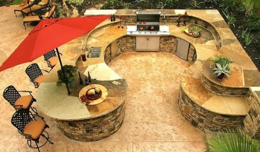 Perfect Outdoor Kitchen Ideas Make Guest Excited21