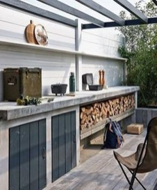 Perfect Outdoor Kitchen Ideas Make Guest Excited34