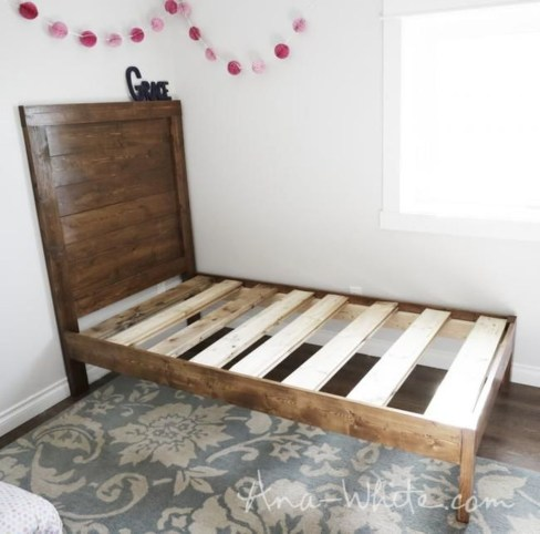 Popular Diy Bed Frame Projects Ideas To Inspire44