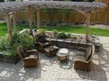 Pretty Grassless Backyard Landscaping Ideas04