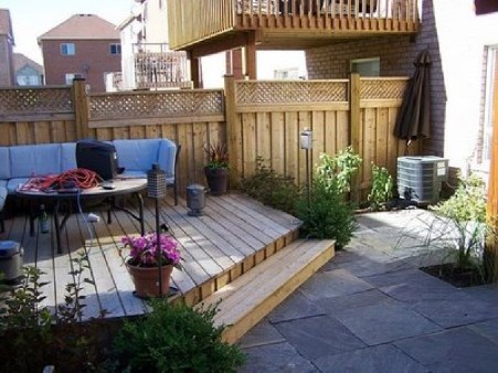 Pretty Grassless Backyard Landscaping Ideas07