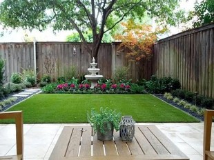 Pretty Grassless Backyard Landscaping Ideas13