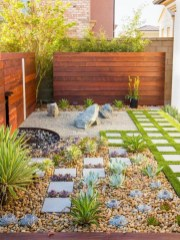 Pretty Grassless Backyard Landscaping Ideas27