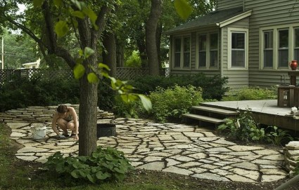 Pretty Grassless Backyard Landscaping Ideas29