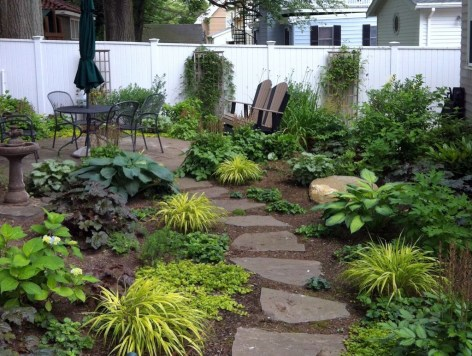 Pretty Grassless Backyard Landscaping Ideas33