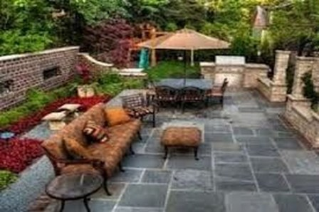 Pretty Grassless Backyard Landscaping Ideas41
