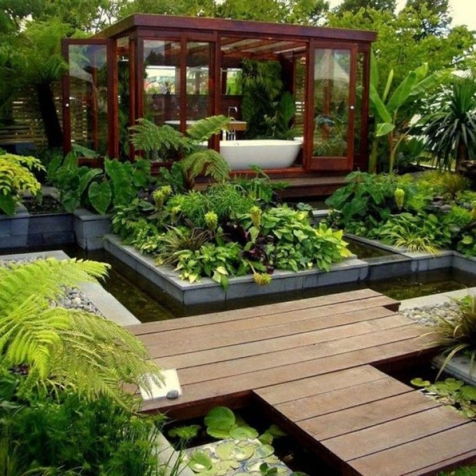 Pretty Grassless Backyard Landscaping Ideas48