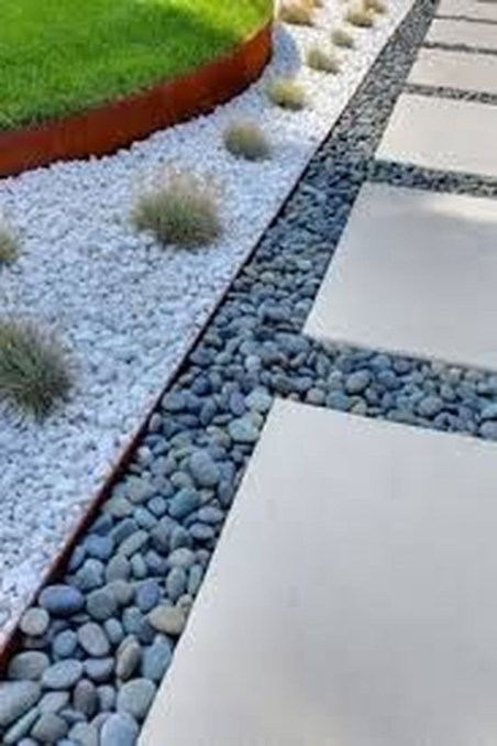 Pretty Grassless Backyard Landscaping Ideas49