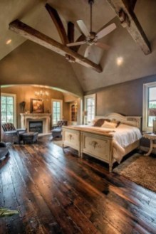 Romantic Rustic Farmhouse Bedroom Design And Decorations Ideas07