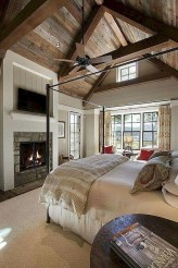 Romantic Rustic Farmhouse Bedroom Design And Decorations Ideas12