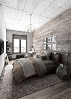 Romantic Rustic Farmhouse Bedroom Design And Decorations Ideas18