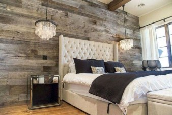 Romantic Rustic Farmhouse Bedroom Design And Decorations Ideas20