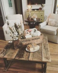 Stylish French Farmhouse Fall Table Design Ideas30