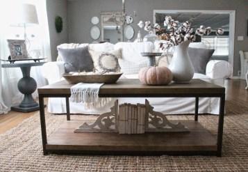 Stylish French Farmhouse Fall Table Design Ideas34
