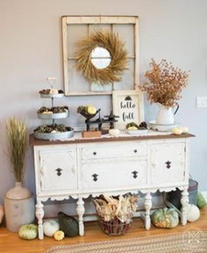 Stylish French Farmhouse Fall Table Design Ideas36