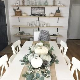Stylish French Farmhouse Fall Table Design Ideas37