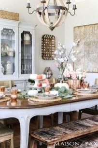 Stylish French Farmhouse Fall Table Design Ideas50