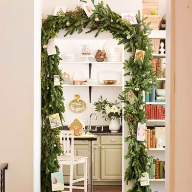Amazing Decoration Your Small Space For Christmas04