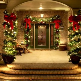 Amazing Outdoor Christmas Trees Ideas 01