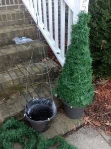 Amazing Outdoor Christmas Trees Ideas 13