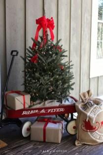 Amazing Outdoor Christmas Trees Ideas 19