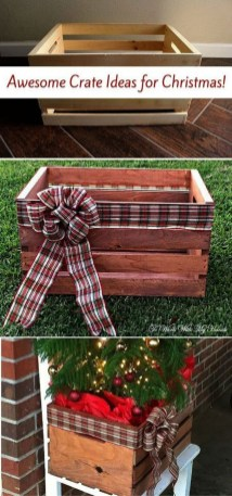 Amazing Outdoor Christmas Trees Ideas 30