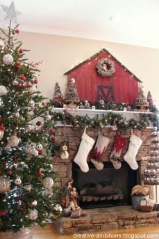 Awesome Farmhouse Christmas Ideas36