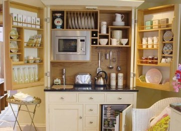 Best Ideas To Design Living Room With Kitchen Properly15