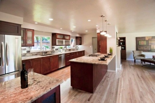 Best Ideas To Design Living Room With Kitchen Properly22