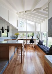Best Ideas To Design Living Room With Kitchen Properly33