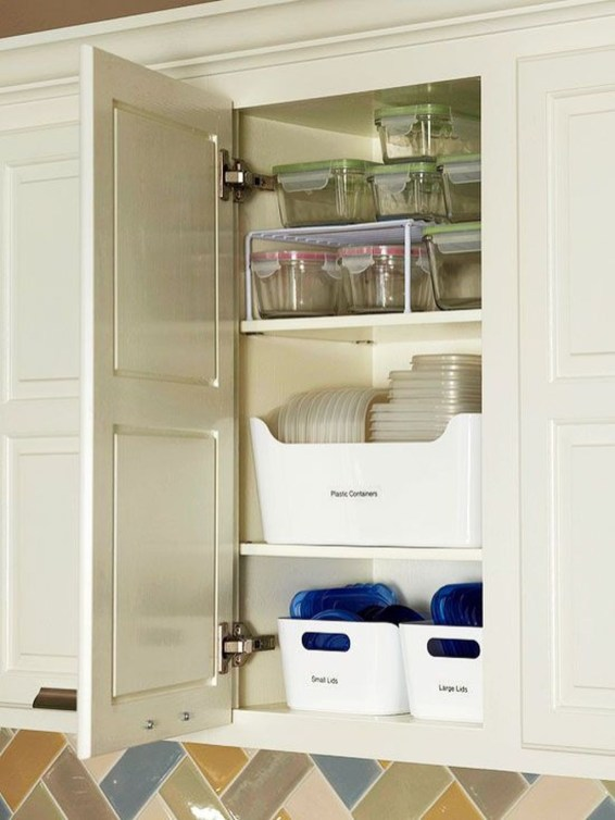 Cheap Cabinets Design Ideas To Save Your Goods41