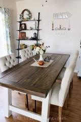 Comfy Diy Dining Table Ideas03