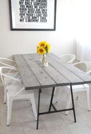 Comfy Diy Dining Table Ideas19