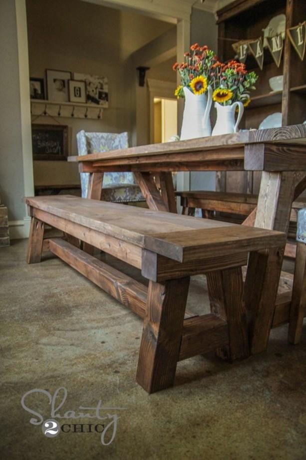 Comfy Diy Dining Table Ideas37